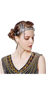 Radtengle Gatsby headpiece