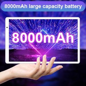 batteria 8000mAh