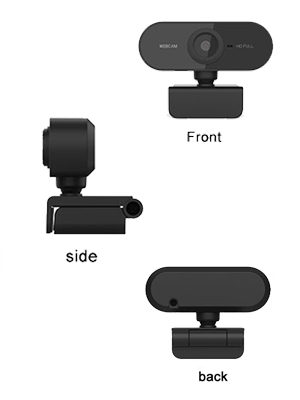 cámara webcam ordenador