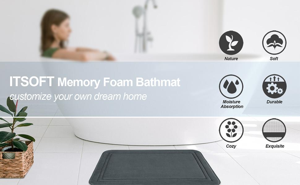 memory foam rug
