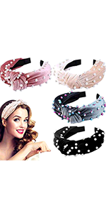 12pcs Boho  Headband Frcolor 12