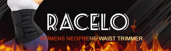 RACELO Womens Neoprene Waist Trimmer