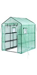 ohuhu large walkin greenhouse 12 tiers