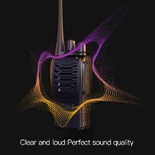 Calidad de sonido perfecta, clara y fuerte