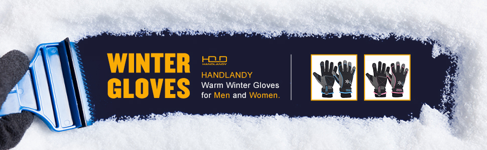 winter gloves for men & women