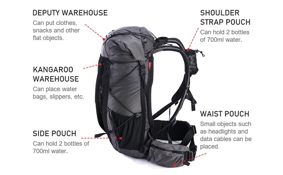 hiking rucksack