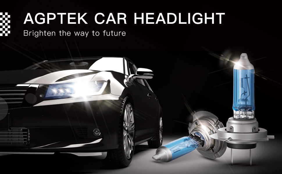 AGPTEK CAR HEADLIGHT