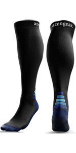 Blue Compression Stockings for Running