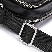 BAGZY Small Shoulder Bag Genuine Leather Crossbody Bag