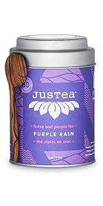 purple rain loose leaf organic fair trade tea