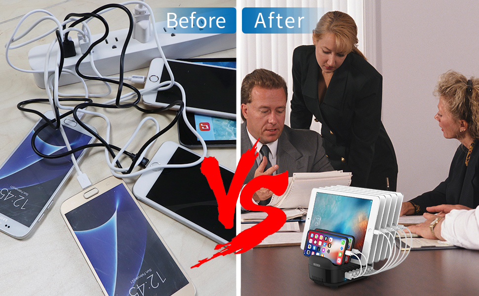 charging station for smart phone