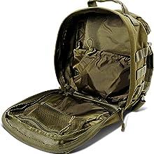 secondary zip pocket interior bag bagpack backpack pack