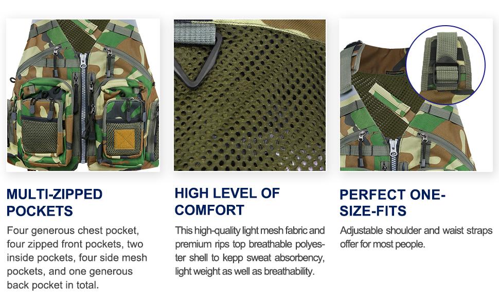 fly fishing vest for men
