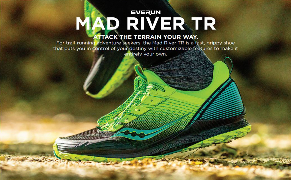 saucony mad river tr used outdoors