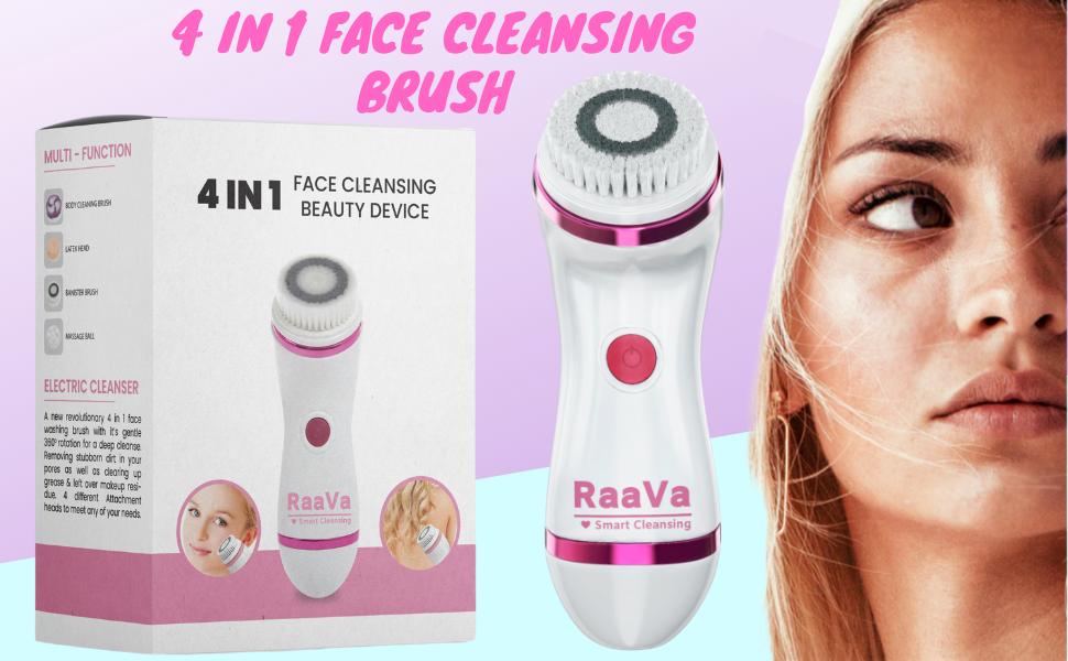 Face Cleansing Brush Facial Scrub