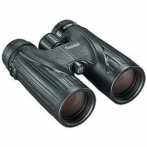 Three quarter view of Bushnell Ultra HD Binoculars