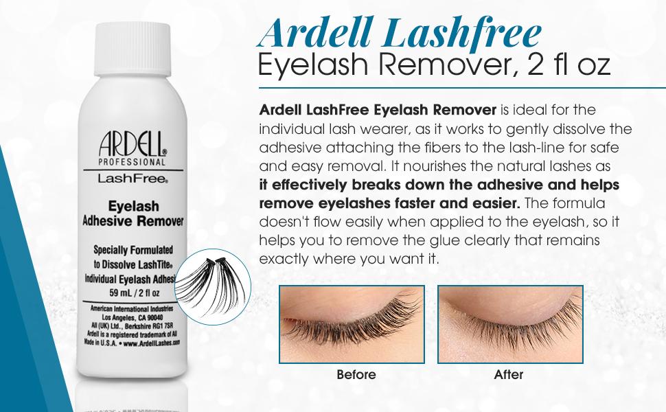 Ardell LashFree Eyelash Adhesive Remover, 2 oz