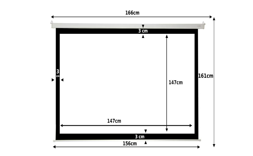 pantalla mural de 80 pulgadas, pantalla manual, pantalla para proyector, tela de proyeccion barata
