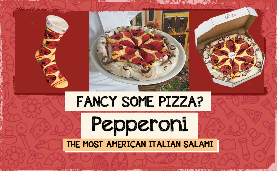 Fancy some pizza? Pepperoni. The most American Italian salami
