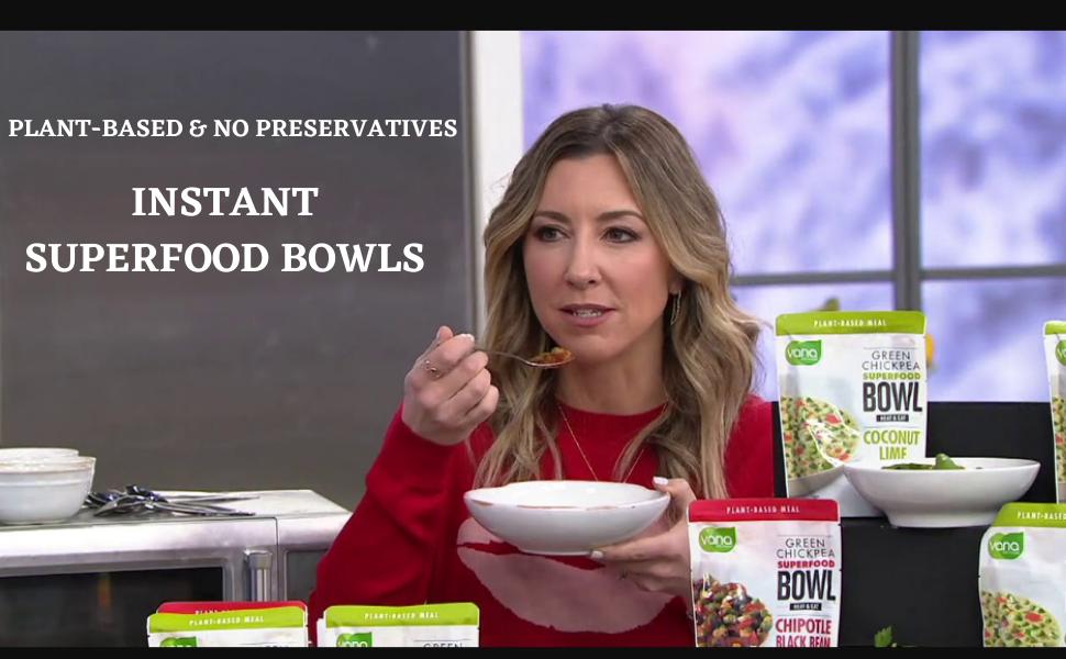 Instant Food Bowls