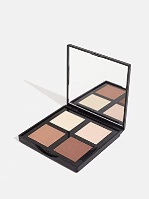 highlighter glowing face palette vegan cruelty free paraben free makeup 3ina