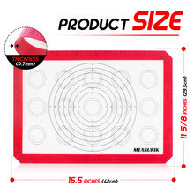 large size silicone baking mat for cookies and macaroons