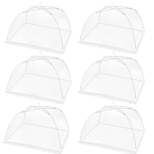 6pack food cover mesh tent
