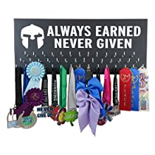 medal display hanger rack awards gifts marathon running sports