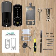 Package Include  [2020 Newest Version] Keyless Entry Door Lock Deadbolt, Smart Lock Front Door, Electronic Door Locks with Keypads, Digital Auto Lock Bluetooth Smart Door Locks for Homes Bedroom 9bfa830a f113 4ab8 8112 f23cddc0c7c1