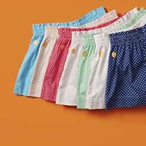 yellowberry cotton lounge shorts