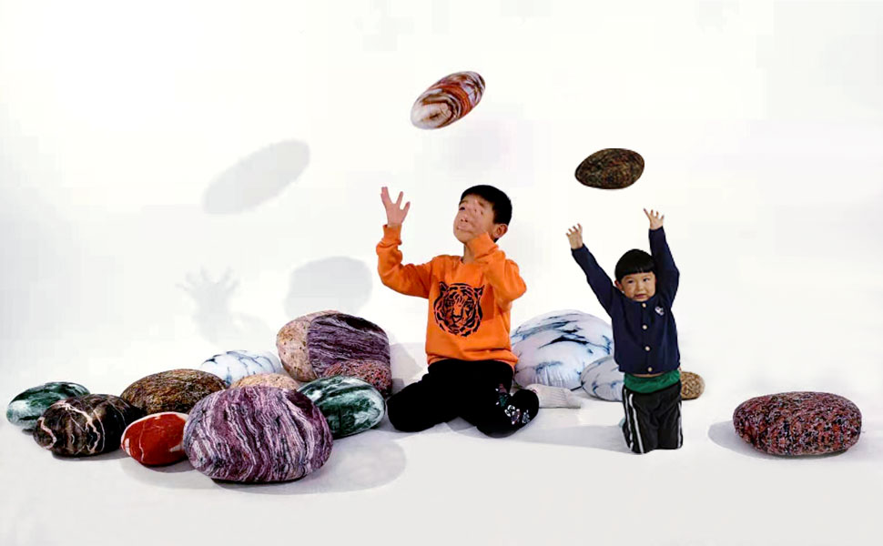 Stone Pillows for Kids