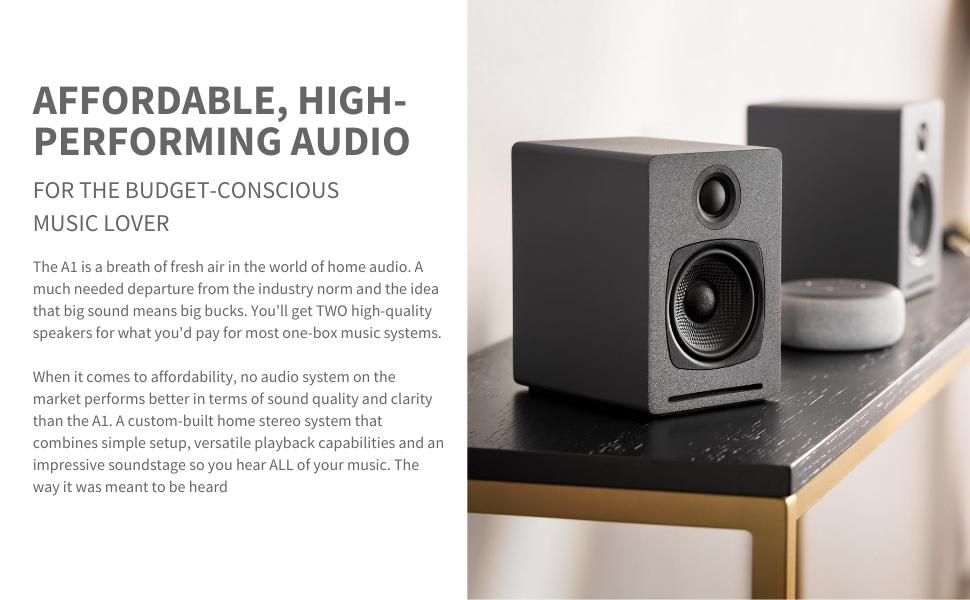 Audioengine Affordable, High-Performing Audio