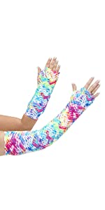 neon tracks arm cast cover