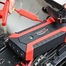 Starthilfegeräte für Autobatterien