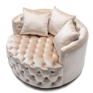 round sofa chair swivel lounge chair