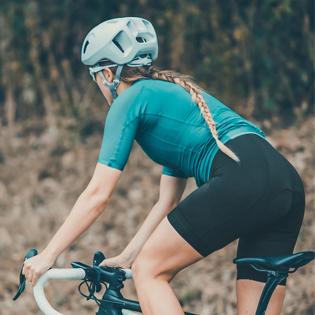 Womens Bike Shorts 3D Gel Padded