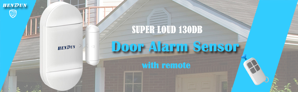 door alarm with remote