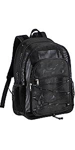 Heavy Duty Mesh Backpack