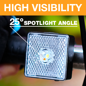 rechargeable bicycle light