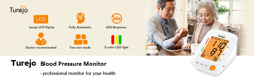 Turejo Blood Pressure Monitor