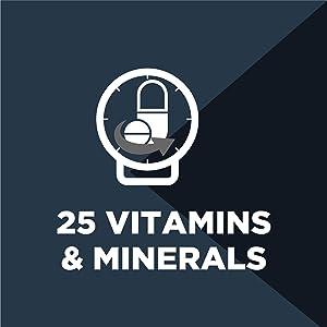 high vitamins and minerals, multivitamin