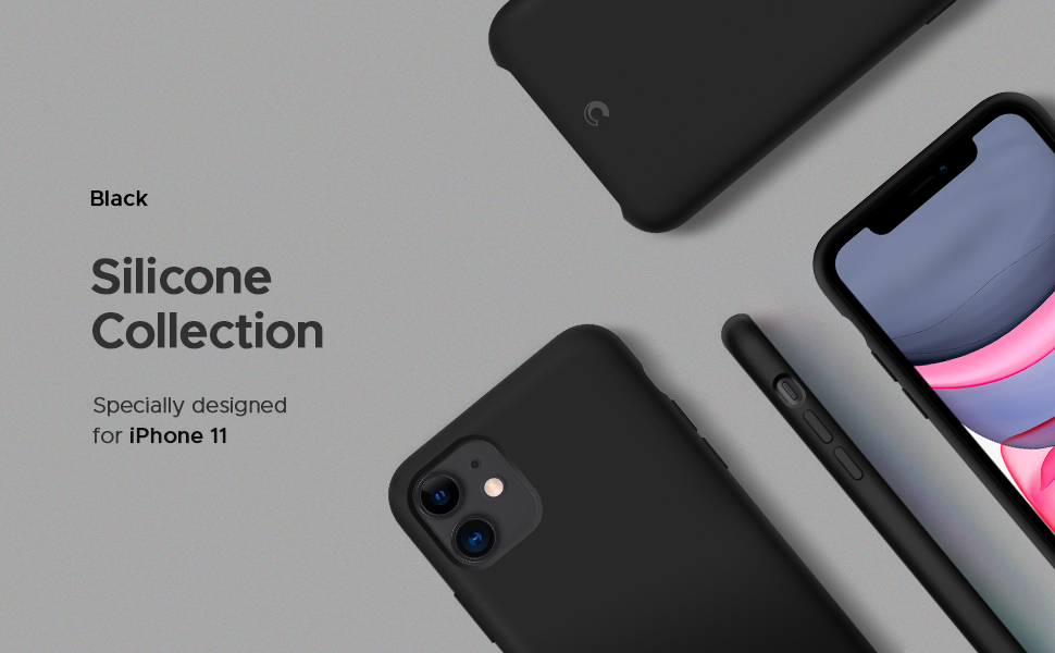 Silicone Collection for iPhone 11