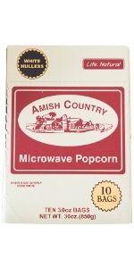 Baby White Lite Natural Microwave Popcorn