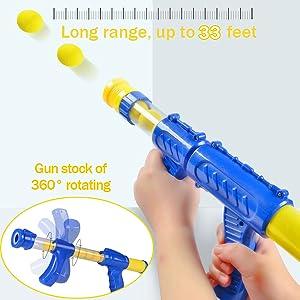 Air pump gun