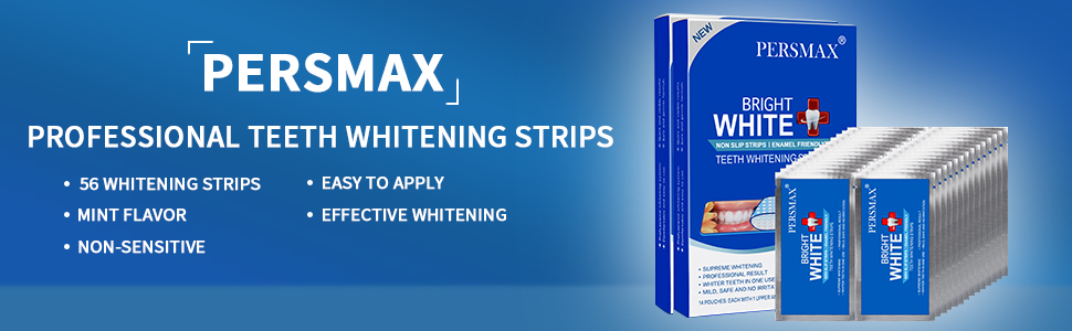 Teeth whitening strips kit