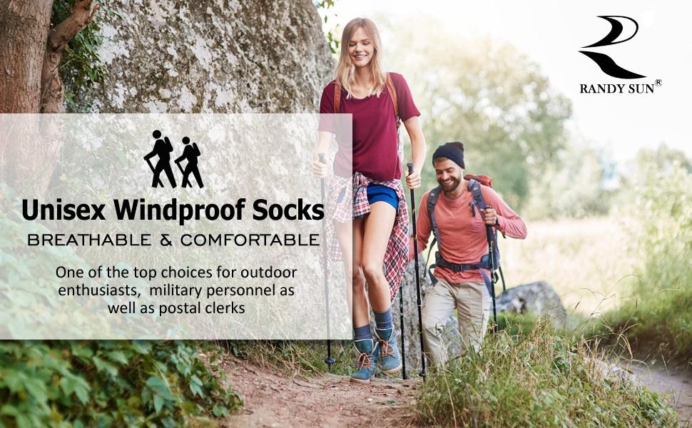 waterproof breathable sprcial hiking climbing warm socks