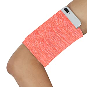 Cell Phone Running Arm Band - Variegated Orange