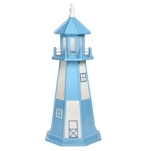4 ft poly lighthouse replica cape henry va