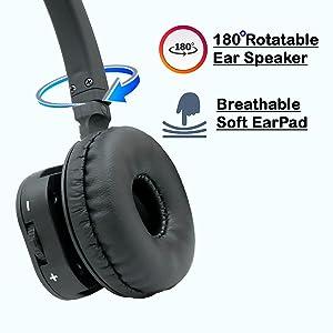 Innotalk wireless headset flexible earpad