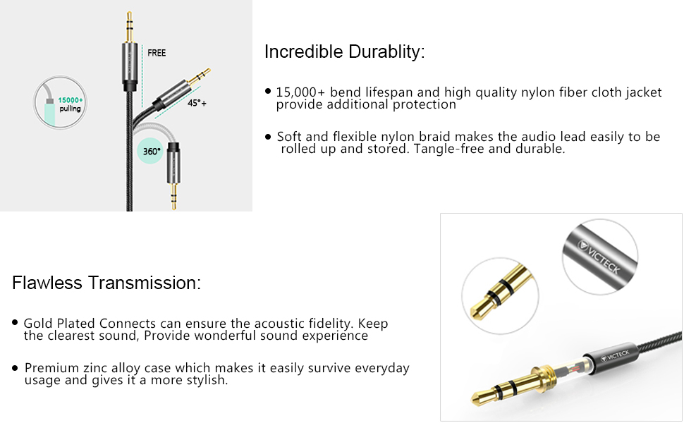 Audio Konverter  Stereo Jack Stecker Splitter Kabel Y Adapter 3,5mm Buchse  Z60